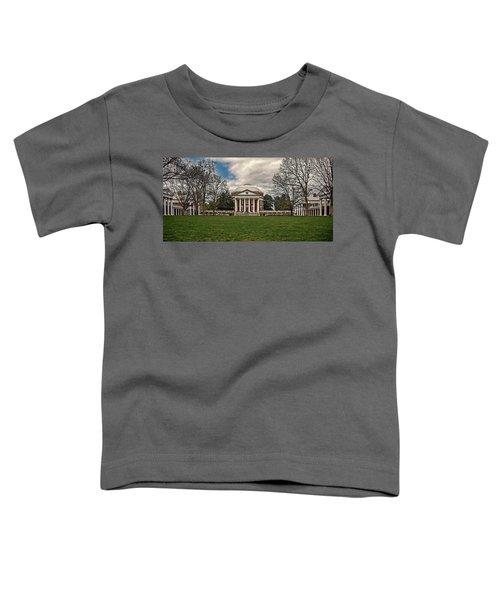 Lawn And Rotunda At University Of Virginia Toddler T-Shirt