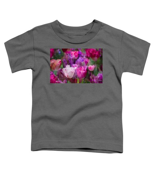 Layers Of Tulips Toddler T-Shirt