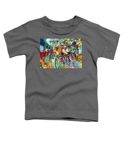 Le Tour De France Madness 02 Toddler T-Shirt