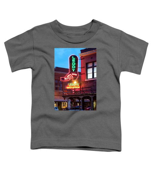 Leddy Hand Made Boots 031315 Toddler T-Shirt