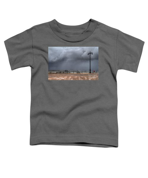 Left In The Power Of The Storm Toddler T-Shirt