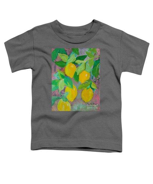 Lemons On Lemon Tree Toddler T-Shirt