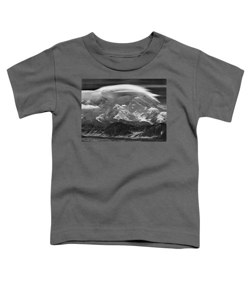 101366-lenticular Cloudcap Over Mt. Mckinley Toddler T-Shirt