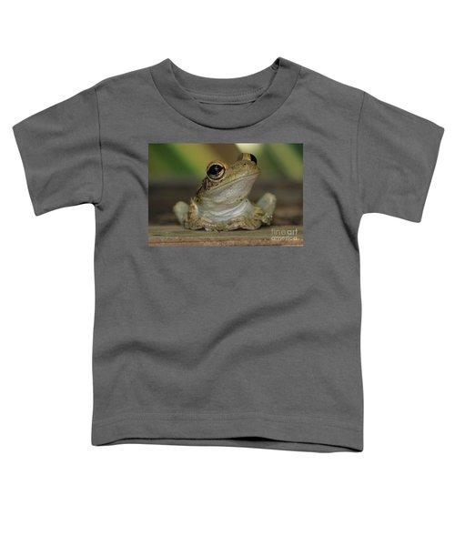 Let's Talk - Cuban Treefrog Toddler T-Shirt