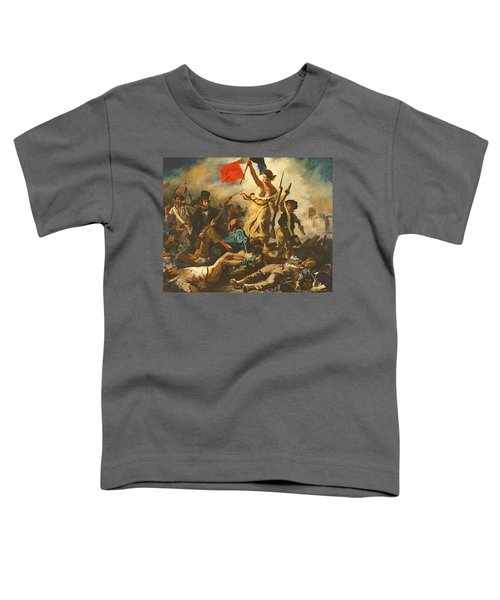 Liberty Leading The People, 28 July 1830 Toddler T-Shirt