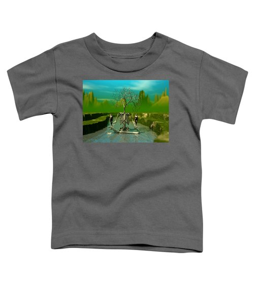 Life Death And The River Of Time Toddler T-Shirt