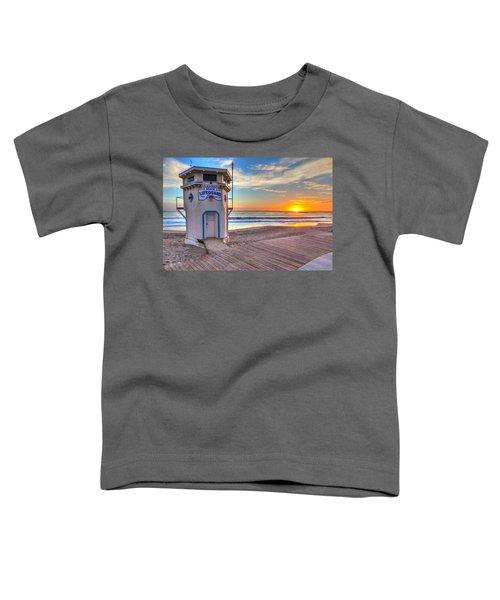 Lifeguard Tower On Main Beach Toddler T-Shirt