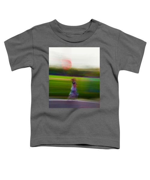 Toddler T-Shirt featuring the photograph Lighter Than Air by Alex Lapidus