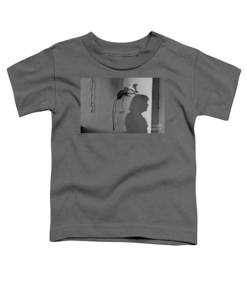 Lily And Male Figure Shadow Toddler T-Shirt