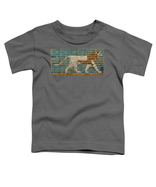 Lion Relief From The Processional Way In Babylon Toddler T-Shirt