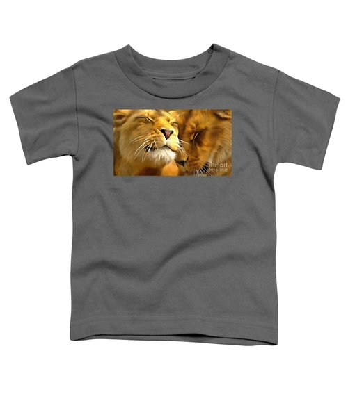 Lions In Love Toddler T-Shirt