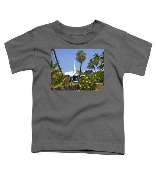 Little Blue Church Kona Toddler T-Shirt
