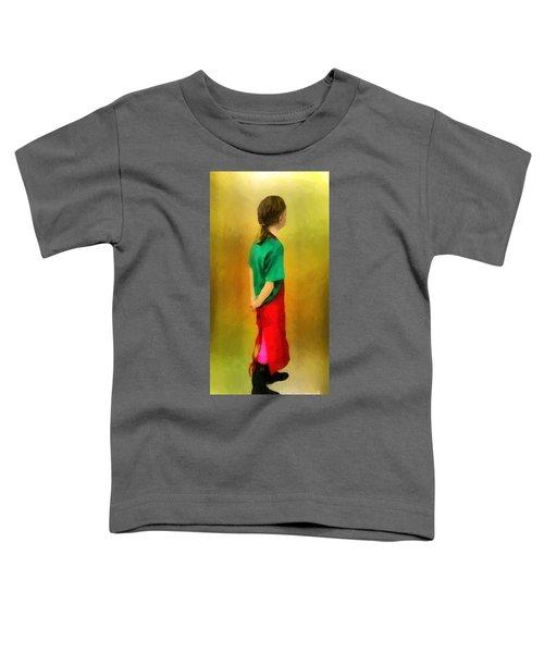 Little Shopgirl Toddler T-Shirt