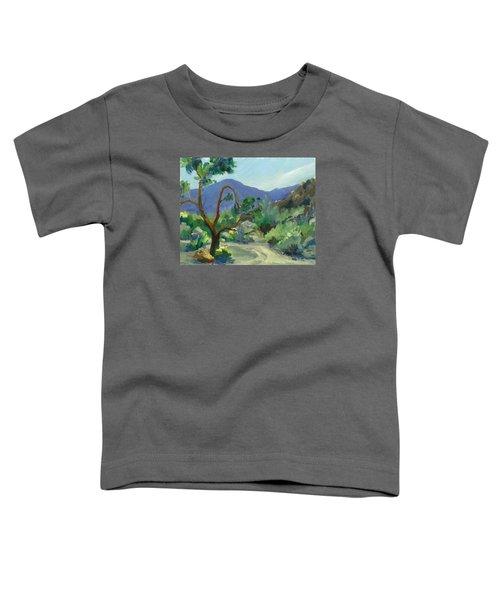 Stately Desert Tree - Spring Commeth Toddler T-Shirt