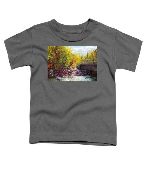 Living Water - Bridge Over Little Su River Toddler T-Shirt