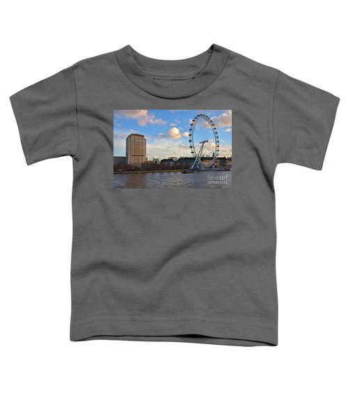 London Eye And Shell Building Toddler T-Shirt