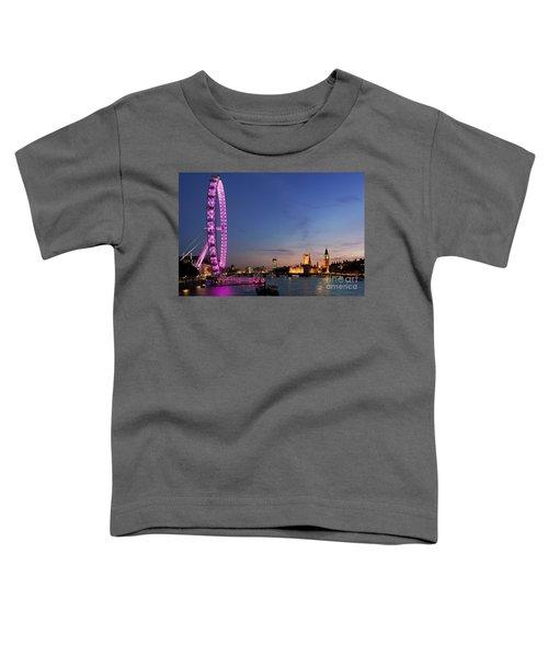 London Eye Toddler T-Shirt by Rod McLean