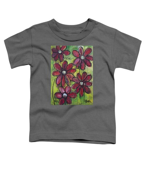 Love For Five Daisies Toddler T-Shirt