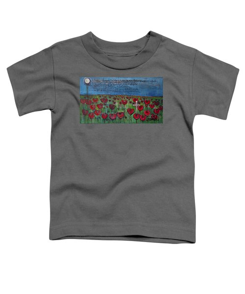 Love For Flanders Fields Poppies Toddler T-Shirt