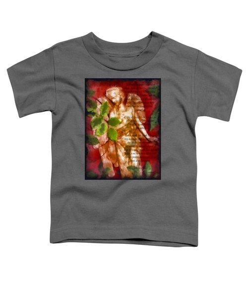 Love Never Fails 3 Toddler T-Shirt
