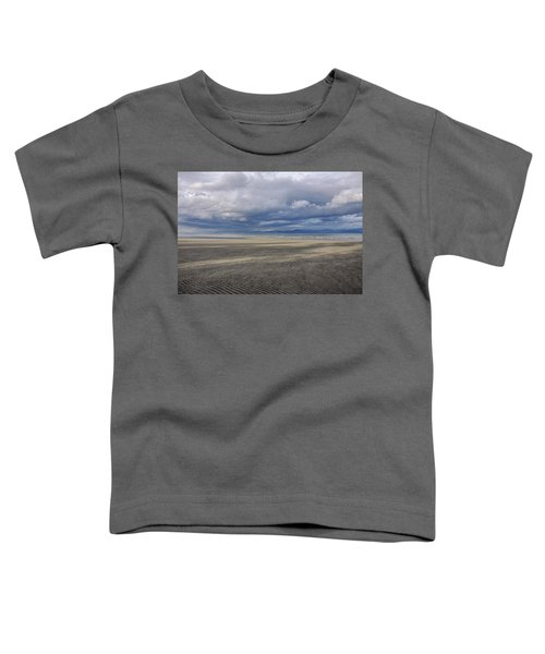 Low Tide Sandscape Toddler T-Shirt