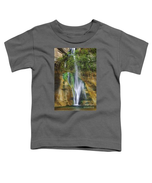 Lower Calf Creek Falls Escalante Grand Staircase National Monument Utah Toddler T-Shirt