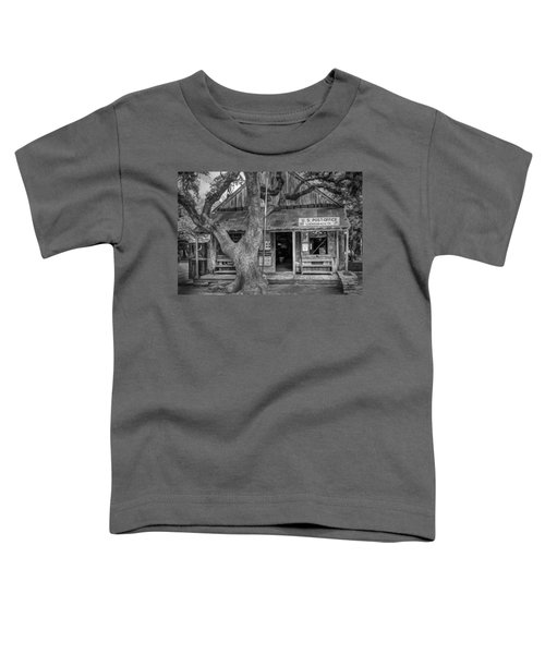 Luckenbach 2 Black And White Toddler T-Shirt