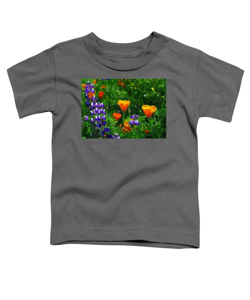 Lupines And Poppies Toddler T-Shirt