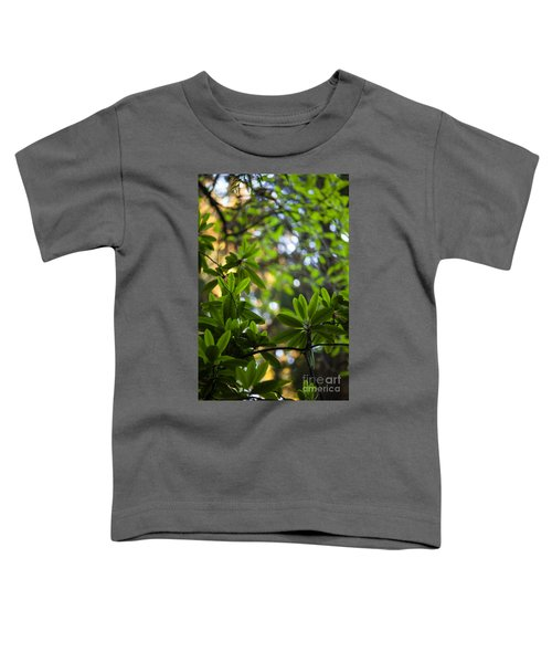 Lush Rhododendron Forest Toddler T-Shirt