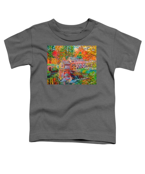 Mabry Mill In Fall Toddler T-Shirt
