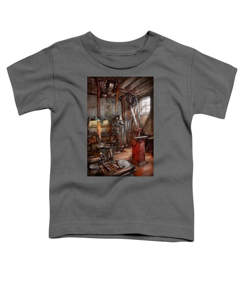 Machinist - The Modern Workshop  Toddler T-Shirt