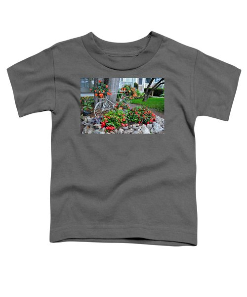 Mackinac Island Garden Toddler T-Shirt