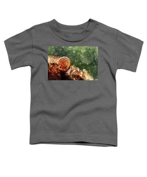 Toddler T-Shirt featuring the photograph Magic Forest by Jaroslaw Blaminsky