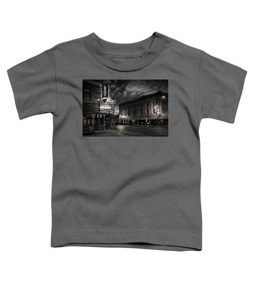 Main And Exchange Bw Toddler T-Shirt