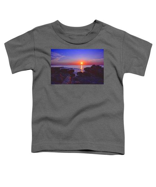 Maine Coast Sunrise Toddler T-Shirt
