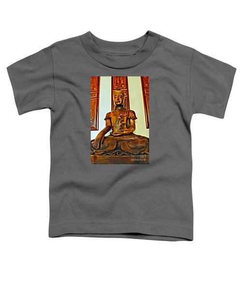 Majestic Buddha Toddler T-Shirt