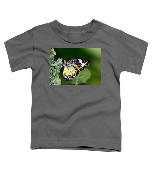 Malay Lacewing Butterfly Toddler T-Shirt