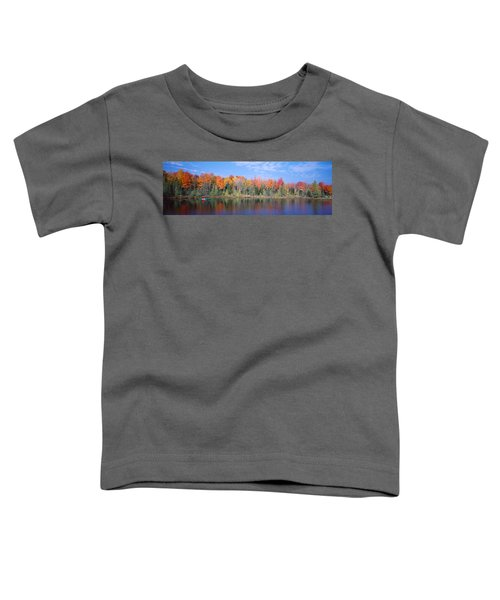Man In Canoe Nr Antigo Wi Usa Toddler T-Shirt