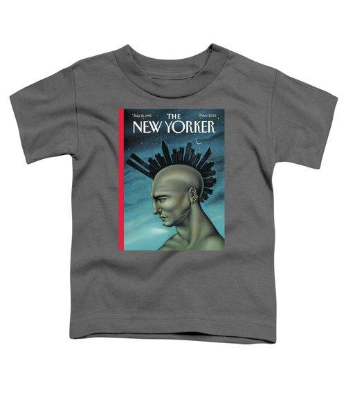 Mohawk Manhattan Toddler T-Shirt