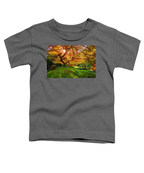 Toddler T-Shirt featuring the photograph Maple  by Dustin  LeFevre