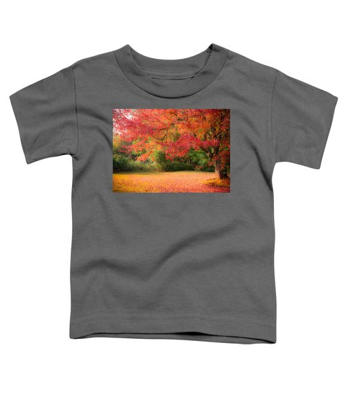 Maple In Red And Orange Toddler T-Shirt