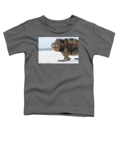 Marine Iguana Male Turtle Bay Santa Toddler T-Shirt