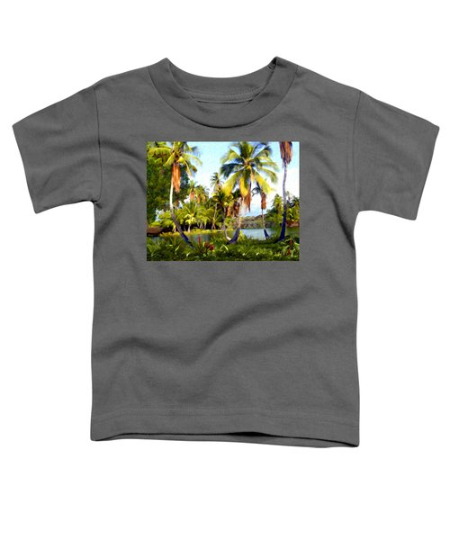 Mauna Lani Fish Ponds Toddler T-Shirt