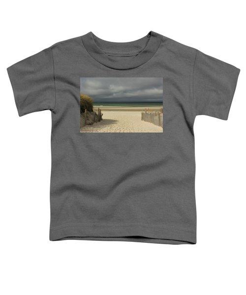 Mayflower Beach Storm Toddler T-Shirt