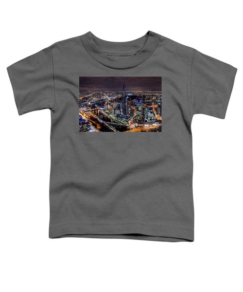 Melbourne At Night IIi Toddler T-Shirt