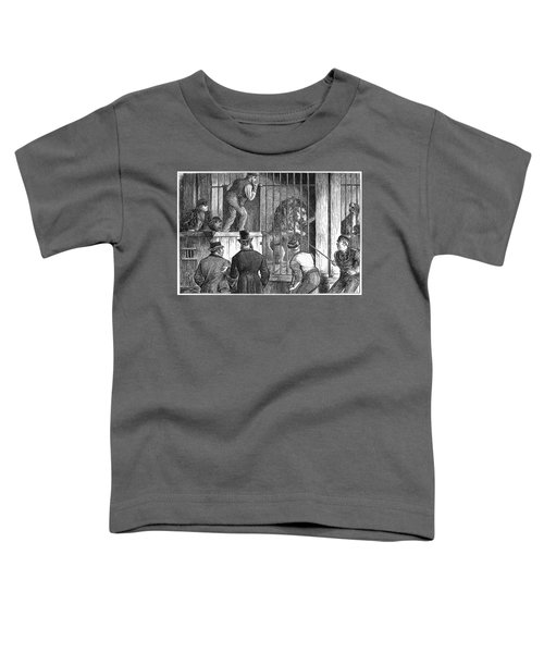 Menagerie Sale, 1872 Toddler T-Shirt