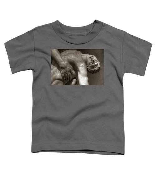 Menelaus Supporting The Body Of Patroclus Toddler T-Shirt