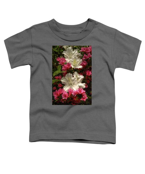 Merging Azaleas  Toddler T-Shirt