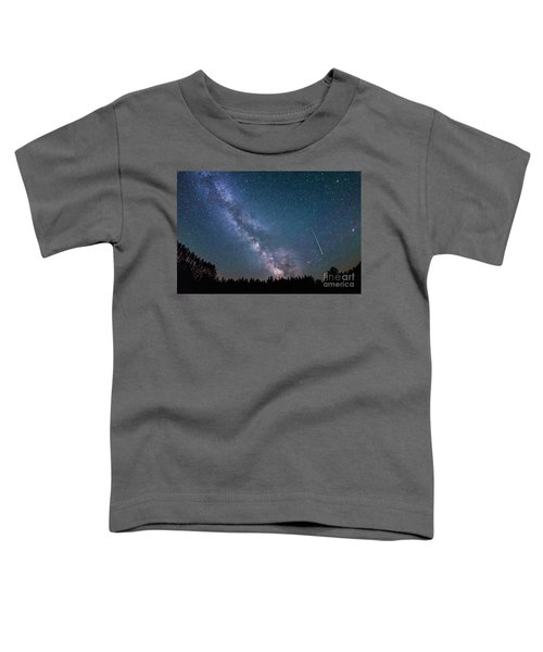 Meteor Milky Way  Toddler T-Shirt
