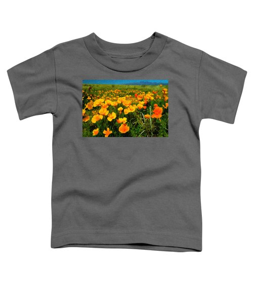 Mexican Poppies Toddler T-Shirt